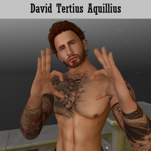 David Tertius Aquillius - Mythos Mythology