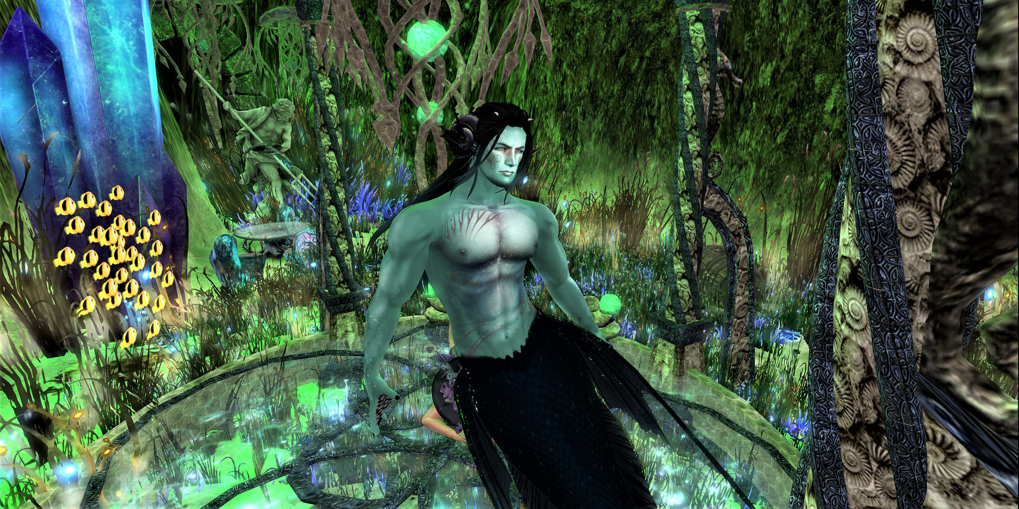 Mermen Will Never be Mermen Anymore - Mythos Second Life