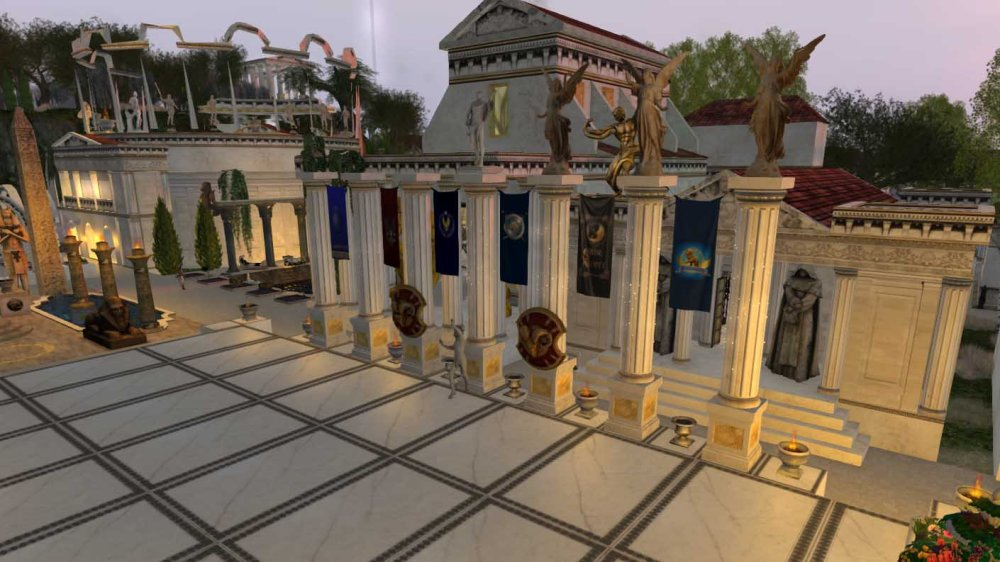 Mythos Themyscira (The City) - Forum, tavern and library