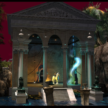 Mythos Voreios (The Ancient Forest) - Temple ruins