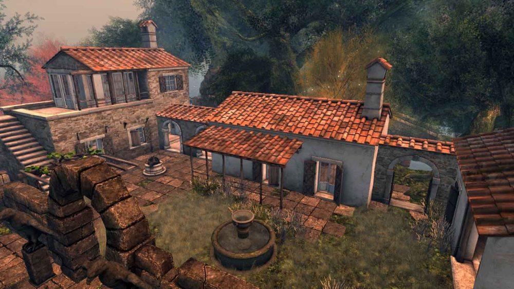 Mythos Voreios (The Ancient Forest) - Boreas the blacksmith house