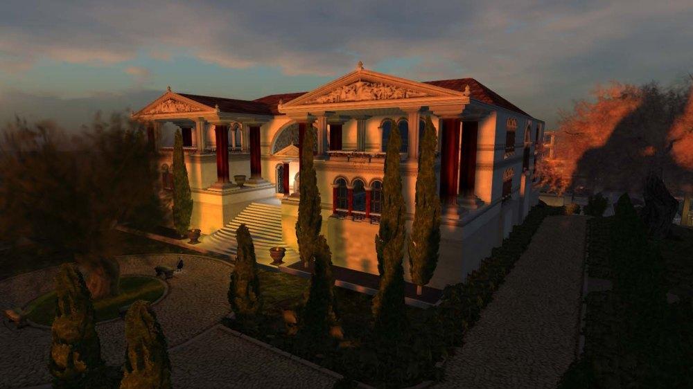 Mythos - Cliff house