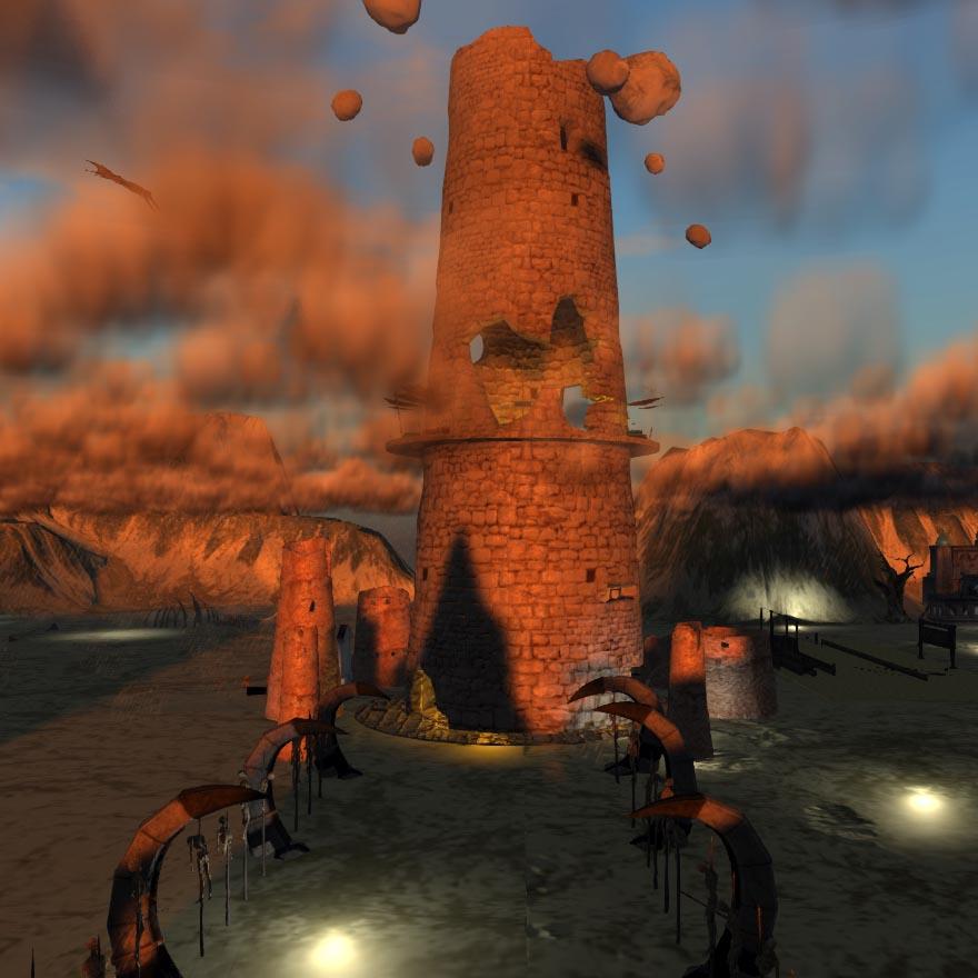 Mythos Wastelands - Broken Tower