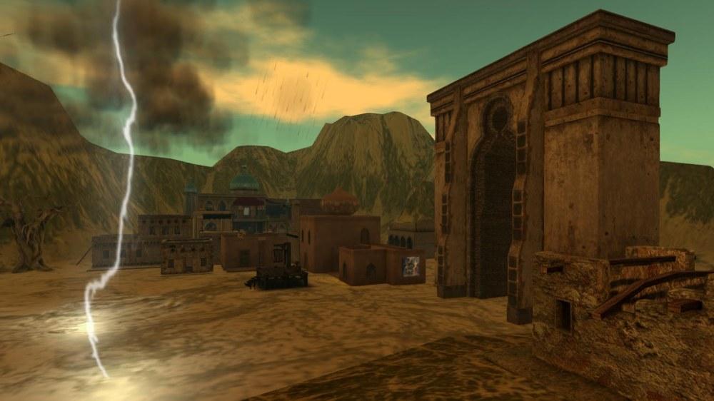 Mythos Wastelands - Taswiyeh gate